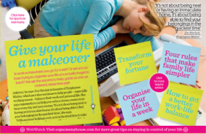 Zoe Sinclair comments on 'How to get a better work-life balance' in Morrisons Magazine Sept 2012