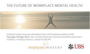 An invitation: A better future for workplace mental health