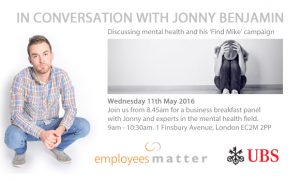 Mental health business breakfast 2016