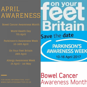 April Awareness Campaigns